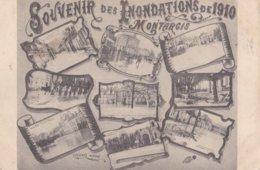 Montargis : Souvenir Des Inondations De 1910 - Montargis