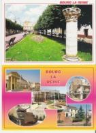 BOURG LA REINE. 2 CP Place Condorcet - Multivues - Bourg La Reine