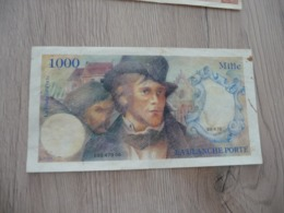Billet France Scolaire Jeu De Billet 1 000 Francs La Blanche Porte - Andere