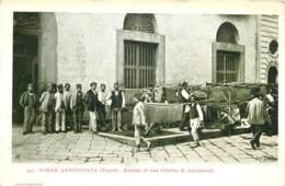 Italie - Napoli - Torre Annunziata - Esterno Di Una Fabrica Di Maccheroni - Napoli (Napels)