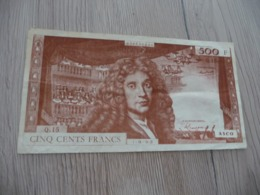 Billet France Scolaire Jeu De Billet 500  Francs Asco - Frankrijk