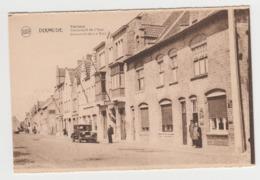 AB888 - BELGIQUE - DIKSMUIDE - DIXMUDE - Yzerlaan - Boulevard De L'Yser - Belle Voiture Ancienne - Diksmuide