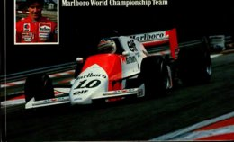 MICHEL FERTE (FRANCE) MARLBORO WORLD CHAMPIONSHIP TEAM  ..CPM ANIMEE - Sport Automobile