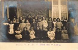Belgique - Carte-Photo - Arlon - Ecole Primaire D'Arlon 1904 - 1ere Année - Photo. E. Gavroy Habay-la-Neuve - Aarlen