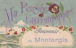 Montargis : Ma Pensée T'accompagne - Souvenir De Montargis - Montargis