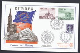 1978 EIRE IRLANDE IRLAND EUROPA CEPT CONSEIL DE L'EUROPE FDC CARTE COUNCIL EUROPE - Covers & Documents