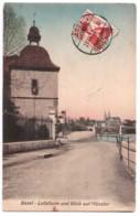 Basel - Letziturm Und Blick Auf Münster - édit. Non Identifié 129 + Verso - BS Bâle-Ville