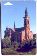Used Phone Cards Belarus Postavy. Church Of St.Antoniy 90 ED. - Belarus
