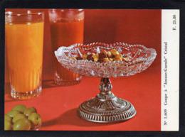 VAISSELLE CRISTAL    Coupe à Amuse -gueule Cristal   CARTE  N° 1.609  état Impeccable 15cmX10,50cm - Photos
