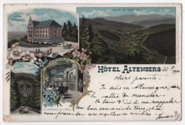 CPA 68 Hôtel Altenberg Restaurant Litho Type Gruss 1900 - Other Municipalities