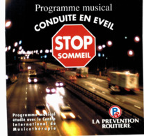 CD N°2847 - PROGRAMME MUSICAL - CONDUITE EN EVEIL - STOP SOMMEIL - PREVENTION ROUTIERE - COMPILATION - Hit-Compilations