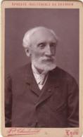 Photo. C.D.V. : Homme Barbu - En Pose : - Photo - F. CHARDONNET - Lyon - Alte (vor 1900)