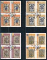 Zumstein 1083-1086 / Michel 1141-1144 Viererblockserie Mit ET-Zentrumstempel - Used Stamps
