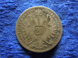 AUSTRIA 20 KREUZER 1870, KM2212 - Autriche