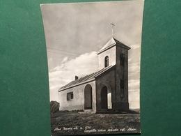 Cartolina Alpe Novesi - Cappella Votiva Dedicata Agli Alpini - 1956 - Vercelli