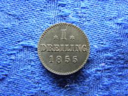 GERMANY HAMBURG DREILING 1855, KM582 - Petites Monnaies & Autres Subdivisions