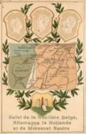 Plombières - Moresnet - Salut De La Frontière Belge Allemande  La Hollande Et De Moresnet Neutre - Plombières
