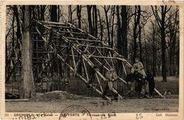 CPA Militaire, Grenoble - Ile Verte (277448) - Weltkrieg 1914-18