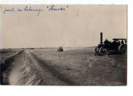 DIRE Soudan Francais Compagnie De Culture Cotonniere Du Niger, Carte Photo Labourage Heucke, Tracteur Agricole - Sudan