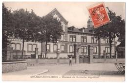 Aulnay-sous-Bois - Maison De Retraite Bigottini - édit. A. Moquet  + Verso - Aulnay Sous Bois