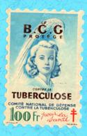 France  Vignette Antituberculose Grand Format 100f Le B C G - Antituberculeux