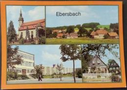 Ak DDR -  Ebersbach - Ortsansichten - Ebersbach (Loebau/Zittau)