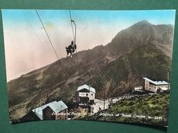 Cartolina Santuario D'Orpa - Seggiovia Al Monte Camino - 1957 - Vercelli