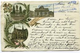 CPA - Carte Postale - France - Nancy - Souvenir De Nancy - 1915 (I10365) - Nancy