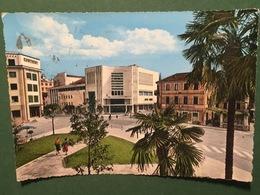 Cartolina Pordenone - Teatro Verdi E Piazzale XX Settembre - 19562 - Pordenone