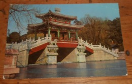Pékin. Pont Au Palais D'été. 1966 - China