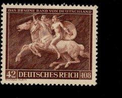 Deutsches Reich 780 Das Braune Band MNH Postfrisch ** Neuf - Nuevos