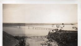 910Cr  Photo Canada Prés Québec Pont De L'Ile D'Orléans En 1946 - Québec - Les Rivières
