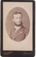 Photo. C.D.V. : Homme Barbu - Portrait : Médaillon - Photo - QUARELLI - Beyrouth - Liban - Photographs