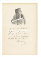 MARECHAL PHILIPPE PETAIN 1856 CAUCHY A LA TOUR 1951 ILE D YEU MILITAIRE PORTRAIT AUTOGRAPHE BIOGRAPHIE ALBUM MARIANI - Documents Historiques