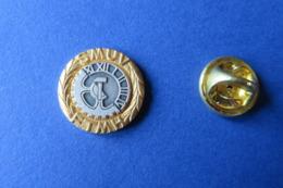 Pin's,Syndicat,SMUV FTMH,montre Horologe,suisse - Markennamen