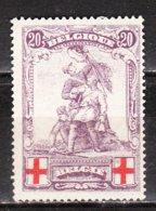 128*  Monument De Mérode - Q Ouvert - LA Bonne Valeur - MH* - LOOK!!!! - 1914-1915 Red Cross