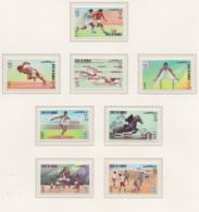 Kuwait 1972 München Olympic Games 8 Stamps MNH/** (H59) - Summer 1972: Munich
