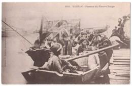 Tonkin - Passeur Du Fleuve Rouge - édit. P. Dieulefils 692 + Verso - Viêt-Nam