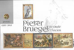 Belg. 2019 - COB N° BL 282 ** Pieter Bruegel (timbres 4877 à 4881) - Belgium