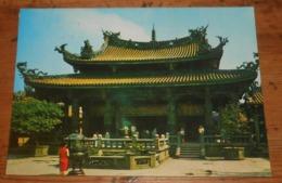 Taipei. Un Temple. 1974. - Taiwan