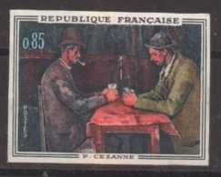 Série Artistique Paul Cézanne YT 1321 De 1962 Sans Trace De Charnière - France