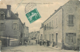 CPA 45 Loiret Chatillon Sur Loire Rue Martial Videt - Chatillon Sur Loire