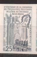 Tour De Constance De 1968 YT 1566 Essai De Couleur Sans Trace De Charnière - Frankreich