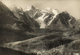 CPSM Grand Format Col Du Lautaret (2058m) Et La Meije (2987m) RV - Francia