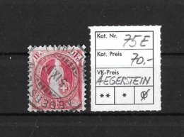 1882 - 1906 STEHENDE HELVETIA Gezähnt → SBK-75E / AEGERSTEIN - Haslithal  (BE)    ►seltener Rundstempel◄ - 1882-1906 Armoiries, Helvetia Debout & UPU