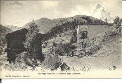 Village De PLATTEN (1909) - VENTE DIRECTE X - VS Valais