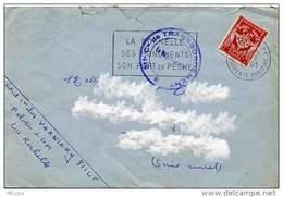 Ar209 Secap La Rochelle, 311 Compagnie De Transbordement /lettre 1961 - Storia Postale