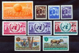Maluku Selatan Lot De 9 Timbres* - Otros - Asia