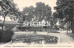 Le Pecq Spa Français - Vue D'ensemble De L'Etablissement Thermal - Saint-Germain-en-Laye - St. Germain En Laye