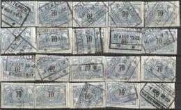 _9Sp-949:restje 20zegels: TR23 ...om Verder Uit Te Zoeken. - Bahnwesen
